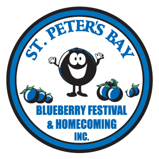 St. Peters Bay - Blueberry Festival Logo