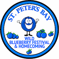 St. Peters Blueberry Festival & Homecoming Logo